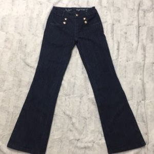 Limited   High Waisted Jeans   Sailor Style    2S
